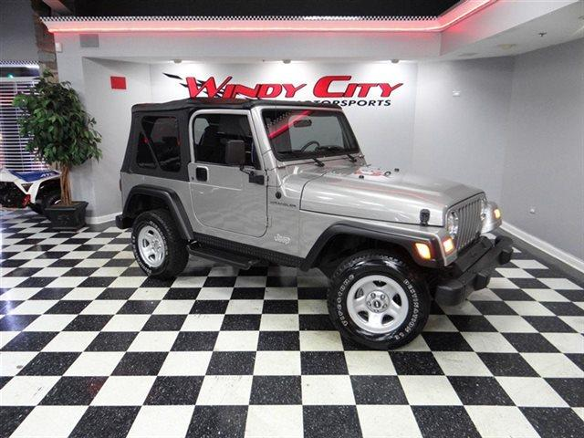 2000 Jeep Wrangler for sale in LOMBARD IL