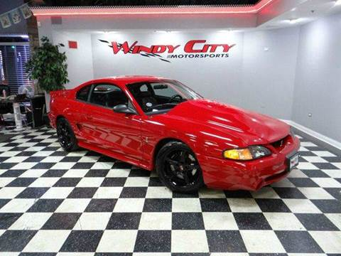 1997 Ford Mustang SVT Cobra for sale in Lombard, IL