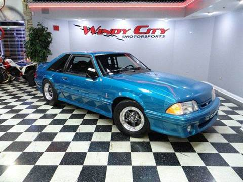 1993 Ford Mustang SVT Cobra for sale in Lombard, IL