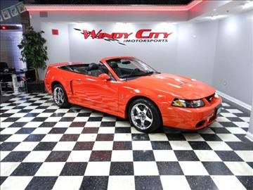 2004 Ford Mustang SVT Cobra for sale in Lombard, IL