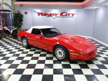 1987 Chevrolet Corvette for sale in Lombard, IL