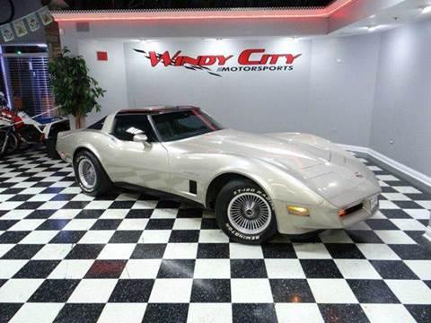 1982 Chevrolet Corvette for sale in Lombard, IL