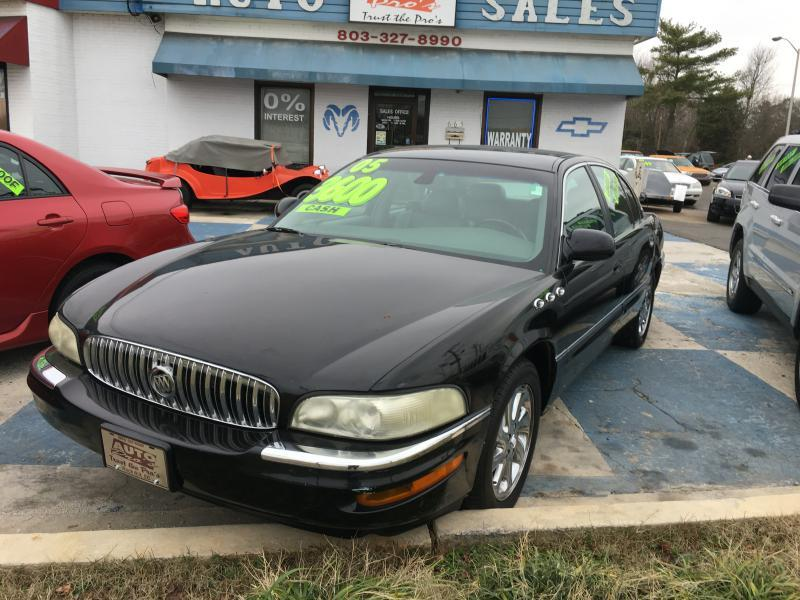 2005 buick park avenue ultra 4dr supercharged sedan in rock hill sc ideal imports. Black Bedroom Furniture Sets. Home Design Ideas