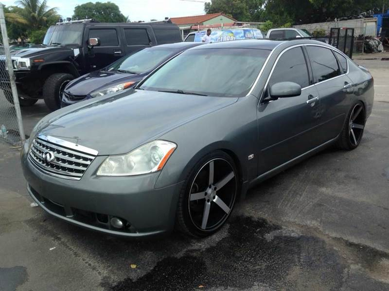 2006 infiniti m35 sport 4dr sedan in miami fl a group. Black Bedroom Furniture Sets. Home Design Ideas