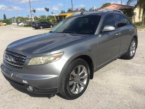 2004 Infiniti FX45 for sale in Opa  Locka, FL