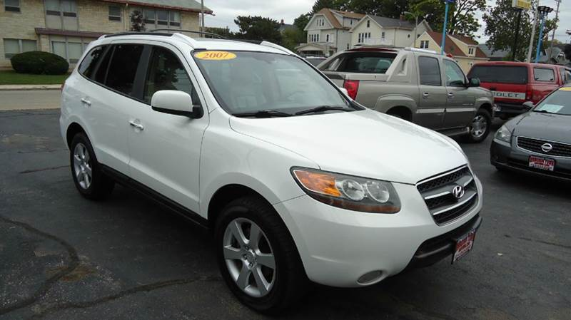 2007 hyundai santa fe limited 4dr suv in milwaukee wi. Black Bedroom Furniture Sets. Home Design Ideas