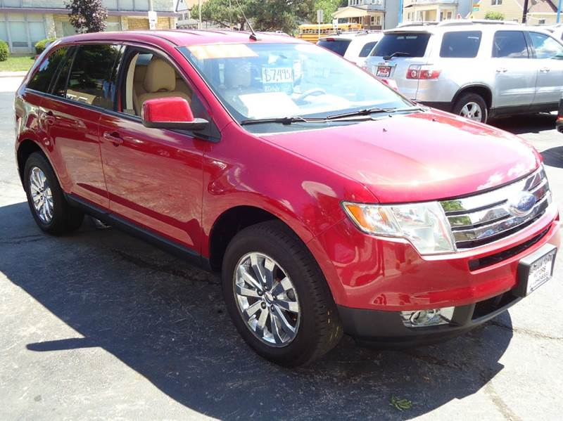 2007 ford edge sel plus 4dr suv in milwaukee wi bargain town motor cars. Black Bedroom Furniture Sets. Home Design Ideas