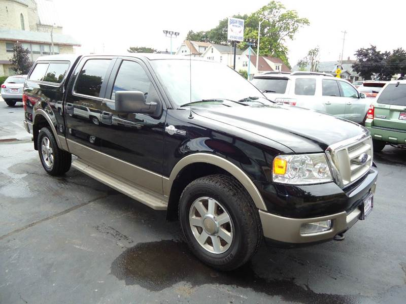 2005 ford f 150 4dr supercrew king ranch 4wd styleside 5 5 ft sb in milwaukee wi bargain town. Black Bedroom Furniture Sets. Home Design Ideas