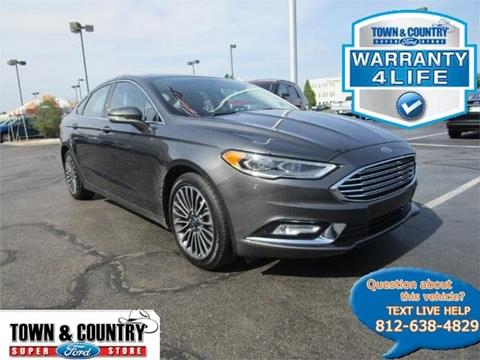 2017 Ford Fusion for sale in Evansville, IN