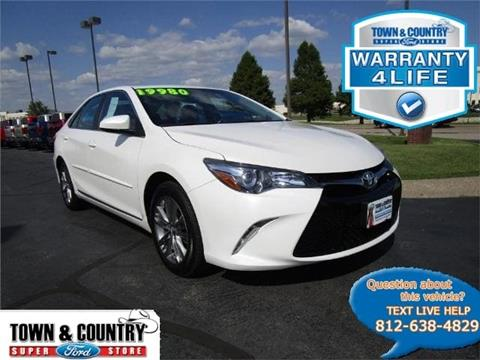 2017 Toyota Camry for sale in Evansville IN