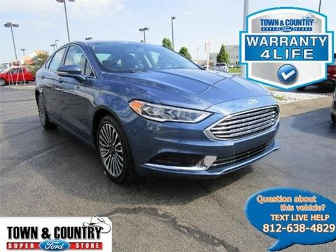 2018 Ford Fusion for sale in Evansville IN