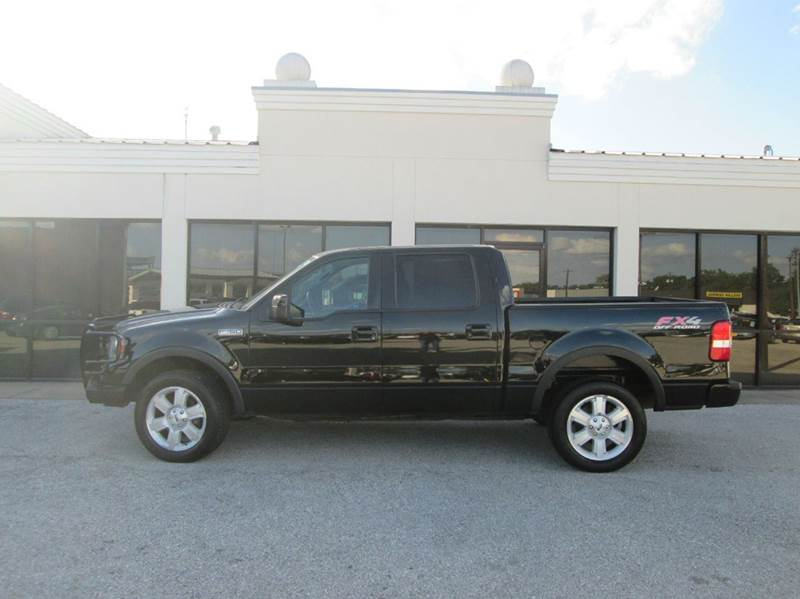 2008 Ford F 150 Fx4 In Houston Tx: 2008 Ford F-150 4x4 FX4 4dr SuperCrew Styleside 5.5 Ft. SB