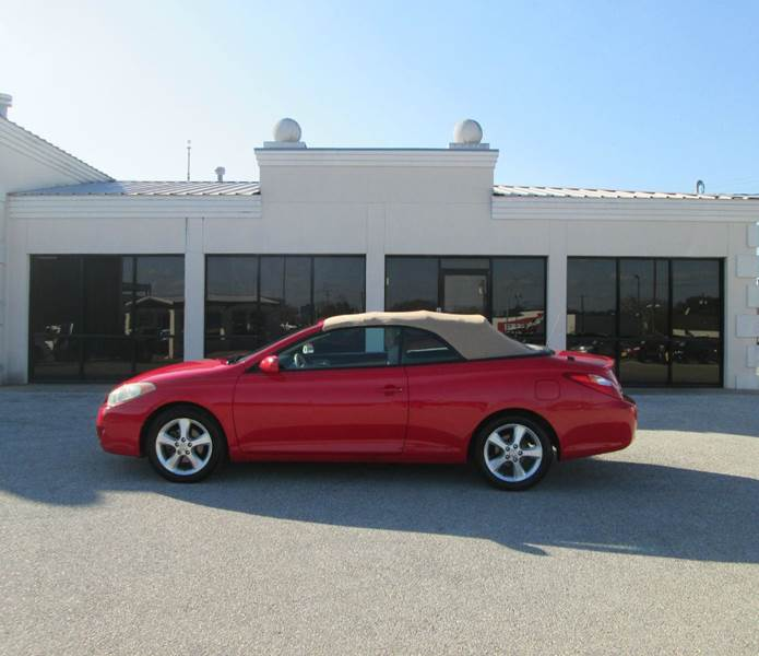 2004 toyota camry solara sle v6 2dr convertible in bryan. Black Bedroom Furniture Sets. Home Design Ideas