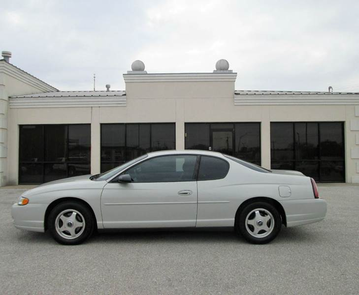 2004 chevrolet monte carlo ls 2dr coupe in bryan tx. Black Bedroom Furniture Sets. Home Design Ideas