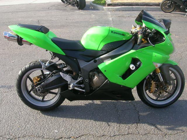 2005 Kawasaki Ninja ZX-6R  - Virginia Beach VA