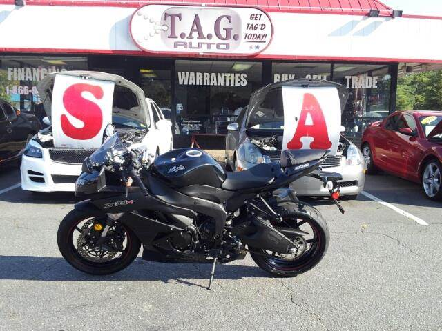 2012 Kawasaki Ninja ZX 6R  - Virginia Beach VA