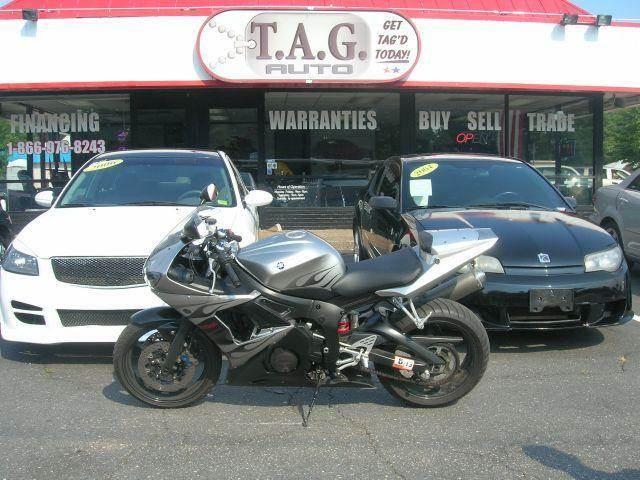2004 Yamaha YZF-R6