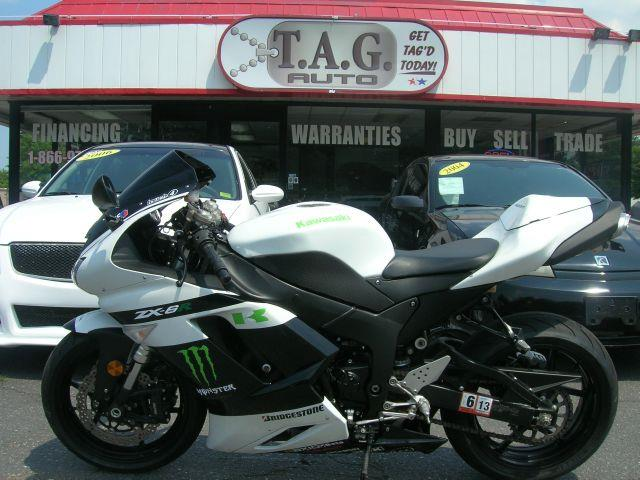 2007 Kawasaki ZX6R  - Virginia Beach VA