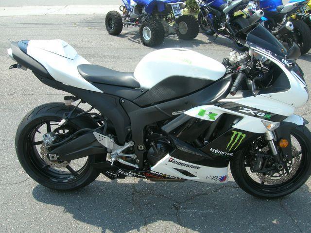 2007 Kawasaki ZX6R  - Virginia Beach VA