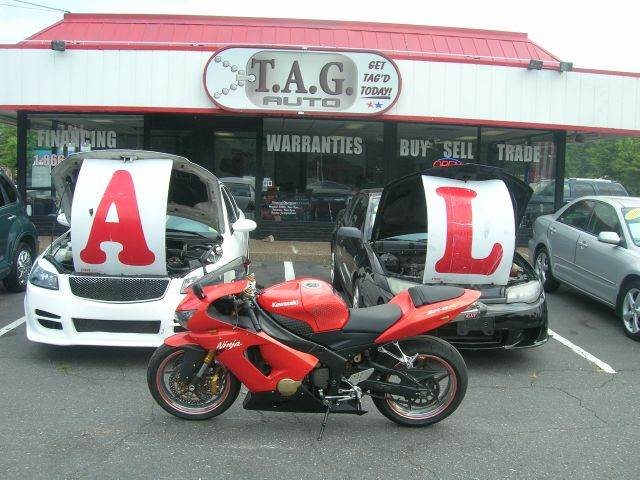 2005 Kawasaki ZX6 636  - Virginia Beach VA