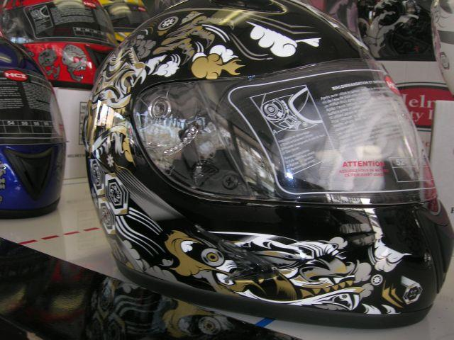 2012 HCI Full Face Helmets