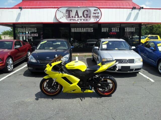 2007 Kawasaki ZX_6  - Virginia Beach VA
