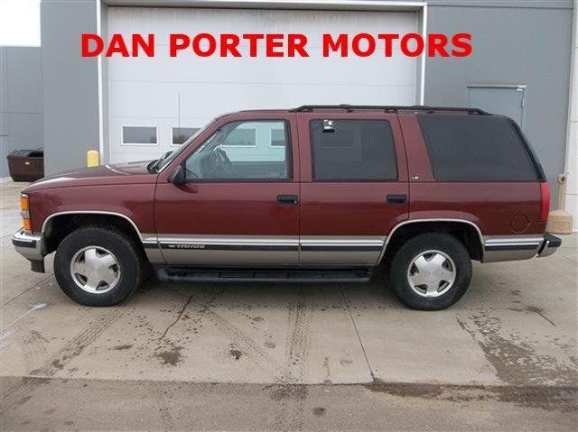 Used 1998 chevrolet tahoe for sale for Dan porter motors dickinson