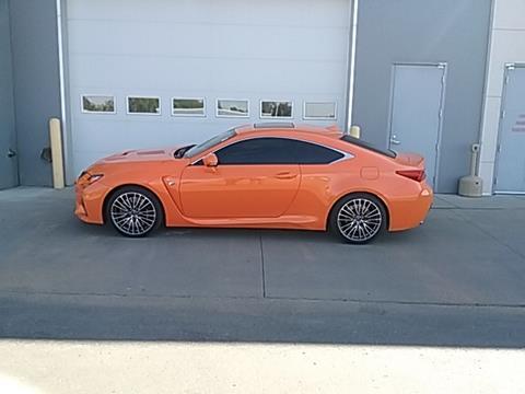 Lexus rc f for sale in north dakota for Dan porter motors dickinson
