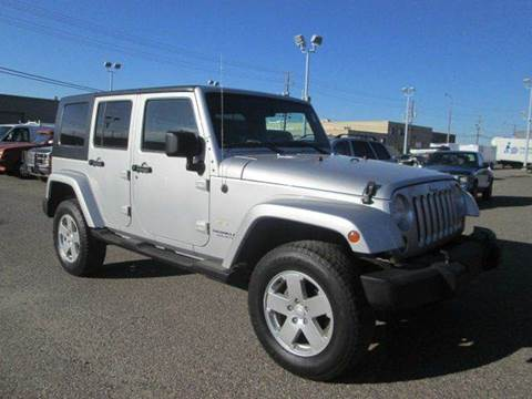 2007 Jeep Wrangler Unlimited For Sale In Montana
