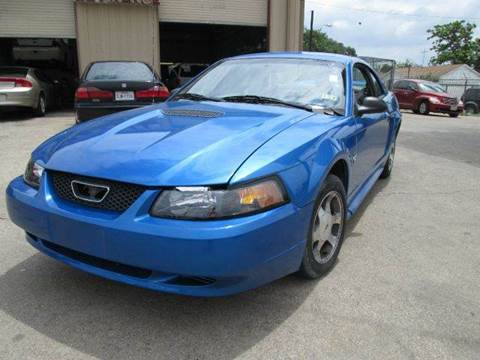 2000 ford mustang for sale dallas tx. Black Bedroom Furniture Sets. Home Design Ideas