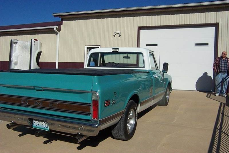 1971 GMC C/K 1500 Series long bed - West Line MO