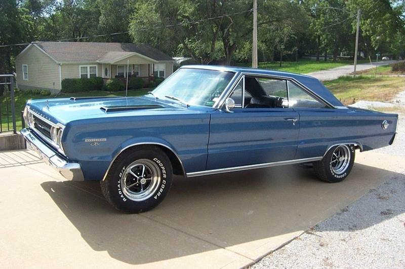 1967 Plymouth GTX 2 dr. ht. - West Line MO