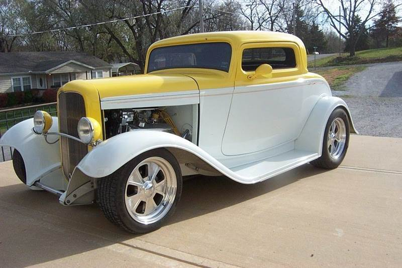 1932 Ford Tudor 3 window street rod - West Line MO