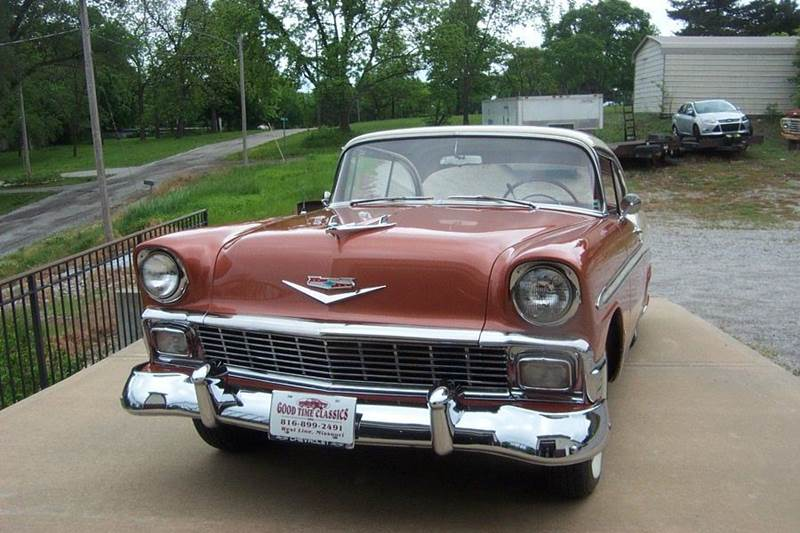 1956 Chevrolet Bel Air 2 dr. HT. - West Line MO