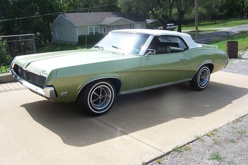 1969 Mercury Cougar standard - West Line MO