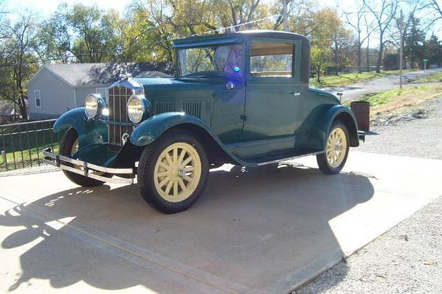 1929 Durant coupe  - West Line MO