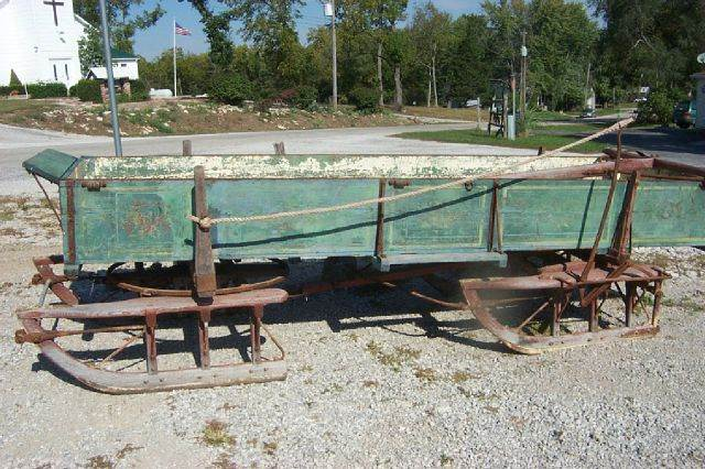 1910  Trailers wagon sled  - West Line MO