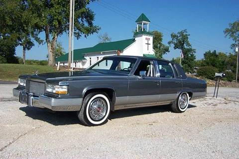 Cadillac Fleetwood For Sale >> 1990 Cadillac Fleetwood Brougham For Sale In West Line Mo