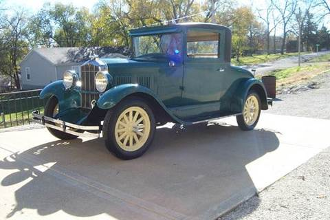 1929 Durant coupe