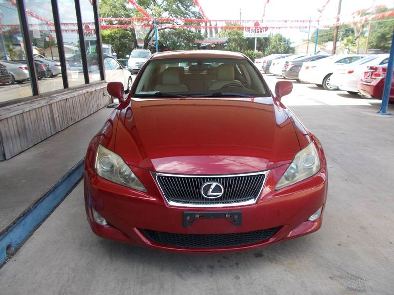 2006 Lexus IS 250 4dr Sedan w/Automatic - San Antonio TX