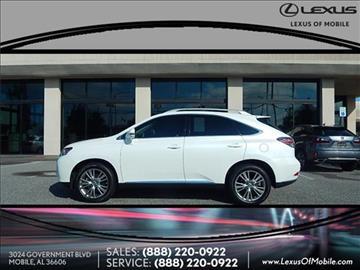Lexus Rx 350 For Sale Alabama Carsforsale Com
