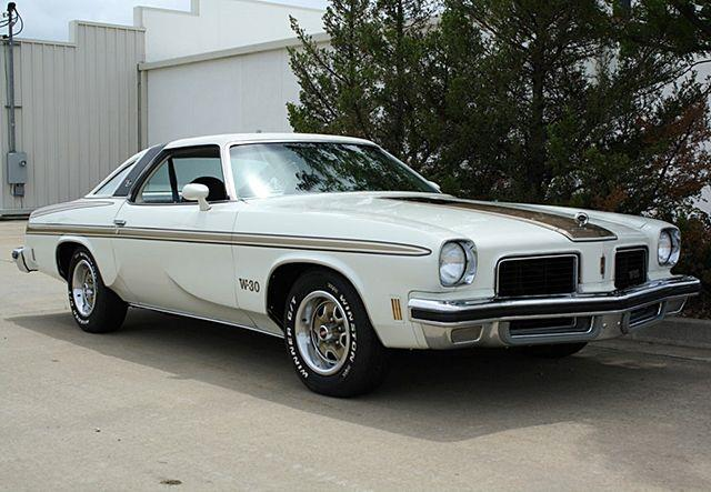1974 HURST OLDSMOBILE H/O CUTLASS COUPE W-30