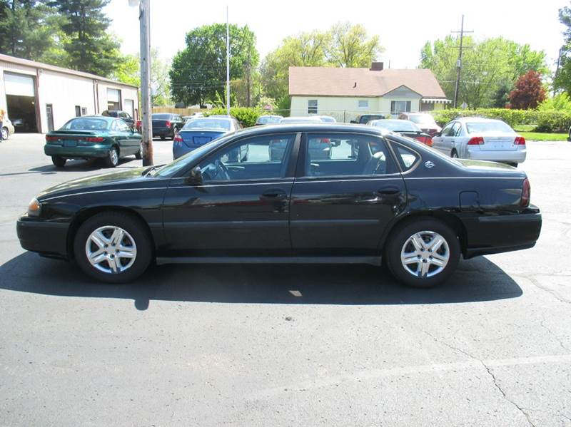 2002 Chevrolet Impala 4dr Sedan - Mishawaka IN