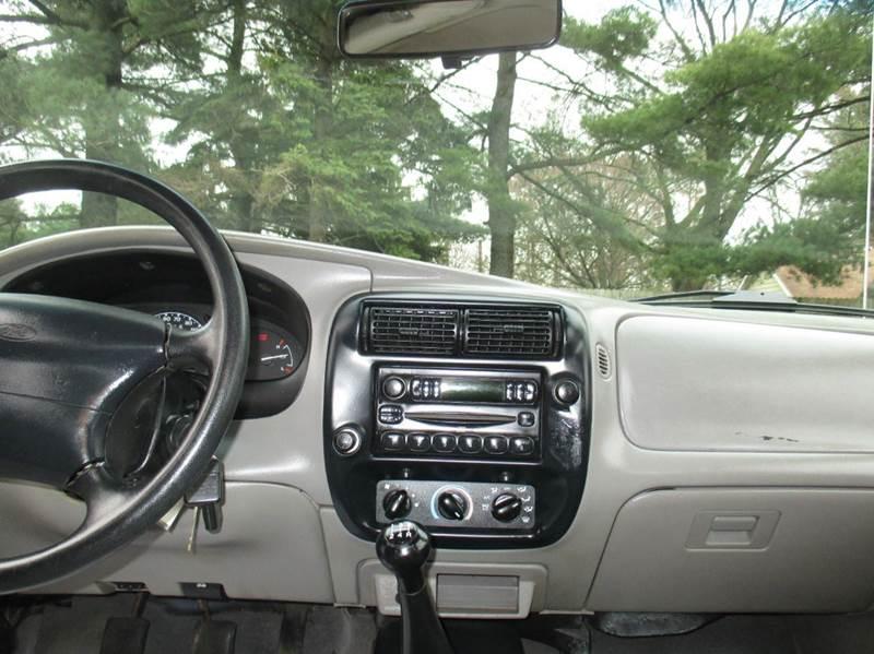 2000 Ford Ranger 2dr XLT Standard Cab SB - Mishawaka IN