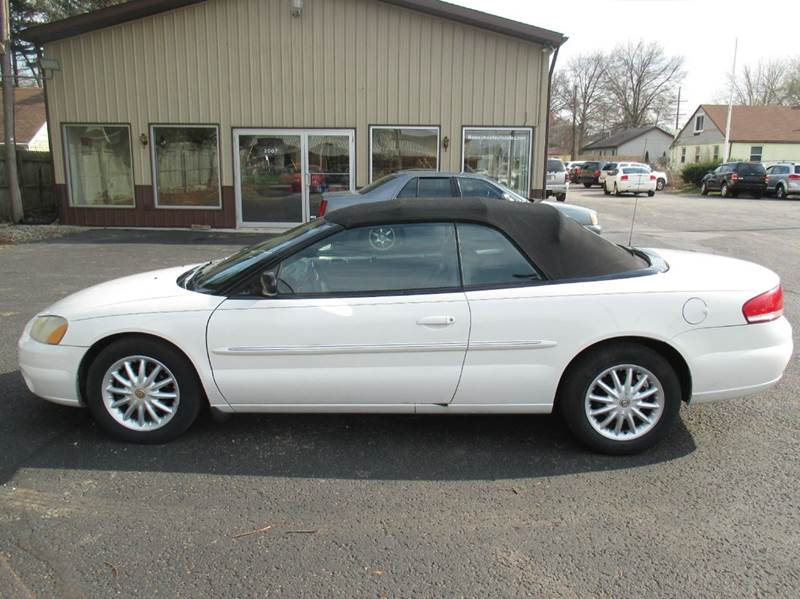 2002 Chrysler Sebring LXi 2dr Convertible In Mishawaka IN  Home