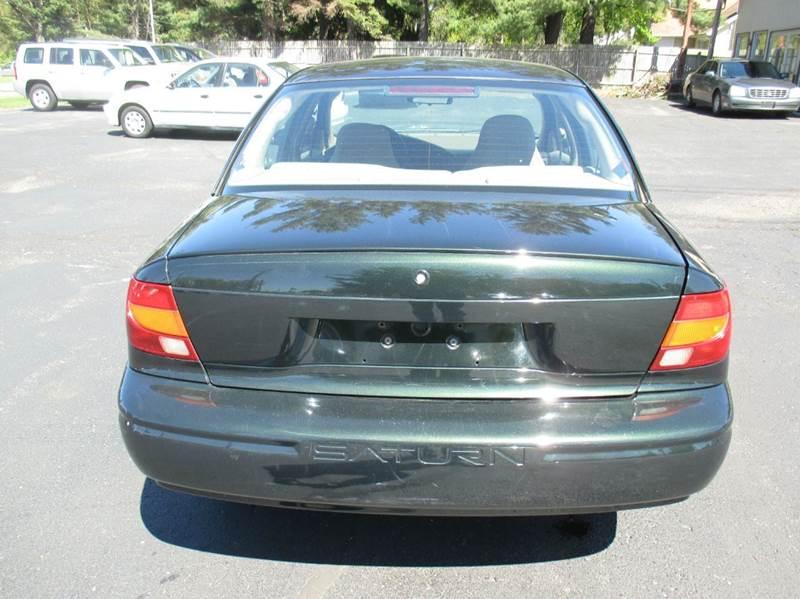 2002 Saturn S-Series SL1 4dr Sedan - Mishawaka IN