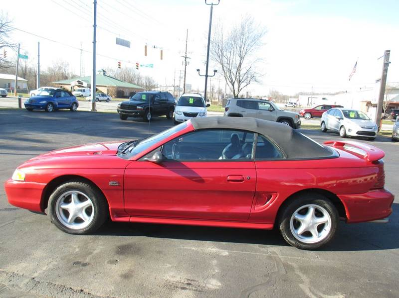 1995 Ford Mustang GT 2dr Convertible - Mishawaka IN