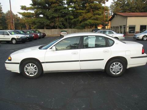 2004 Chevrolet Impala for sale in Mishawaka, IN