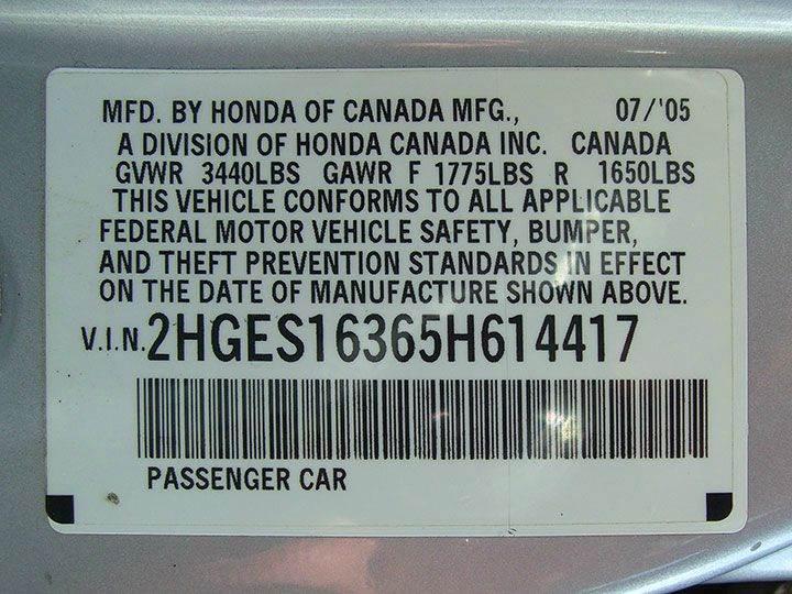 2005 Honda Civic Value Package 4dr Sedan - Springfield MA