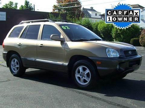 2002 Hyundai Santa Fe for sale in Springfield, MA